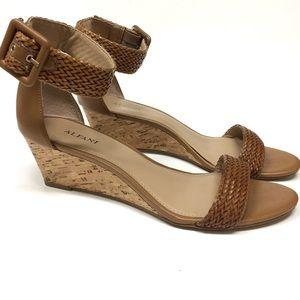 Alfani cork heel sandals